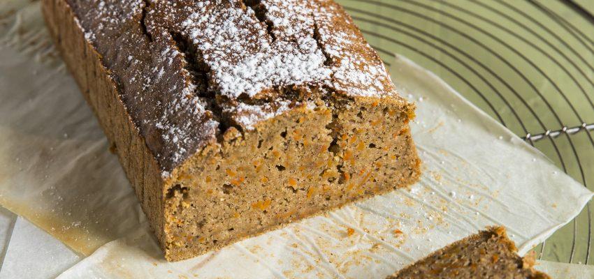 Carrot cake sans gluten aux épices chaï