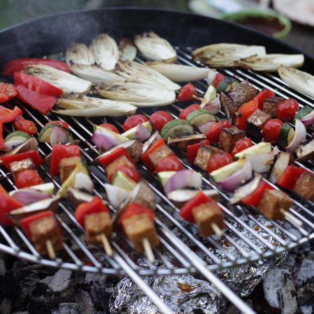 brochette tempeh vegan vegetal barbecue