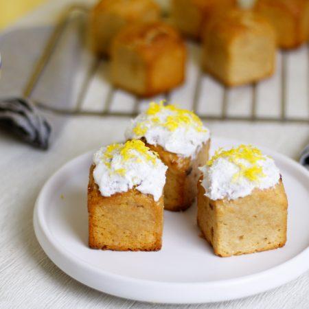 Cake au citron et à la noix de coco