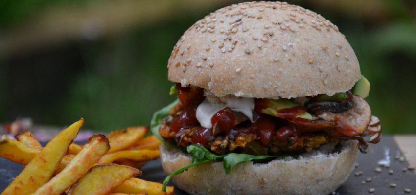 Kids burger by Archcena