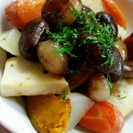 Estouffade de légumes d'hiver à la bourguignonne