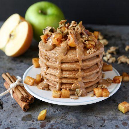 Pancakes pomme-cannelle