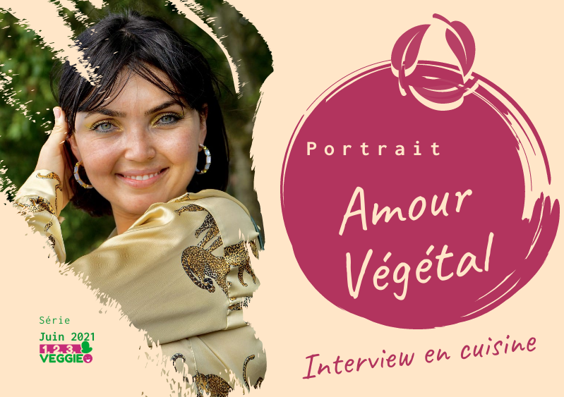 1·2·3 Veggie Interview en cuisine — Fanny (Amour Végétal)